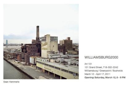12 Mar-17 Apr, 101 Grand St., Brooklyn, 11211